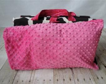 Nap Mat Cover Giraffe and FREE Blanket
