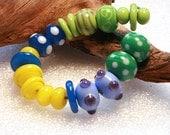 Jeanniesbeads Lampwork  Beads  3251