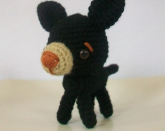Amigurumi Tiny Little Chihuahua.