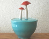 Mushroom Sugar Bowl, Seconds Sale