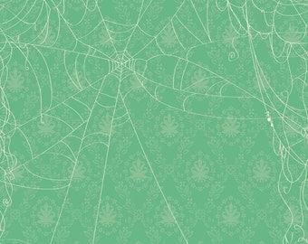 Witch Hazel Web Green - Fabric By Riley Blake - 9.95 A Yard
