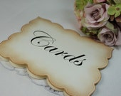 Wedding Card Sign - Wedding Sign - Wedding Guest Sign - Reception Sign - Card Sign