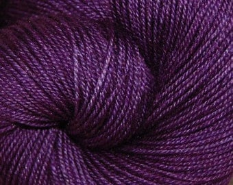"MYS 622 ""ROYAL "" -400 yards 100 grams- 60/20/20 Superwash Merino, Yak and silk"