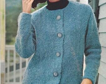 Knit Cardigan Jacket (U15)