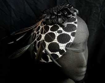 Fascinator Headpeice with Feathers
