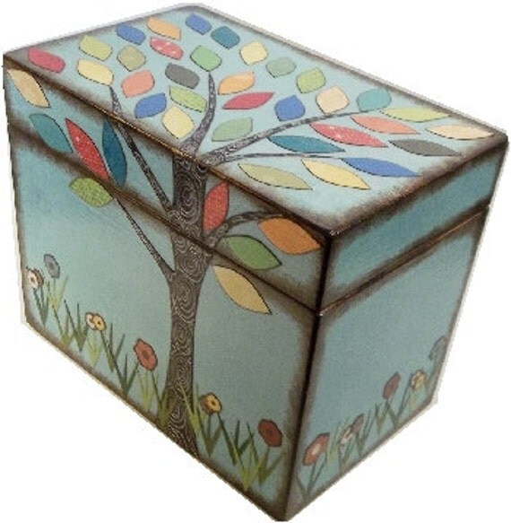 Recipe Box Decorative Box Couples Gift Bridal Shower