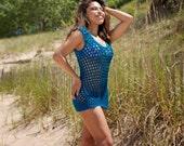 Torquoise Coverup, tank top, t-shirt - customer colors custom sizes