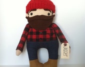Reserved Custom Lumberjack for Corban