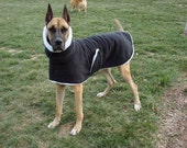 XXL Fleece and Sherpa Custom Dog Coat
