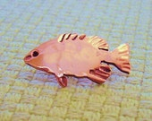 Bass Copper Pin