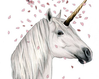Legend Unicorn Limited Edition Art Print by Ryan Berkley