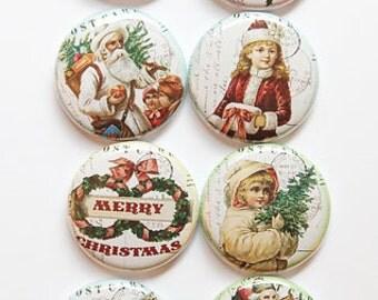 Santa Stamps 2 Flair