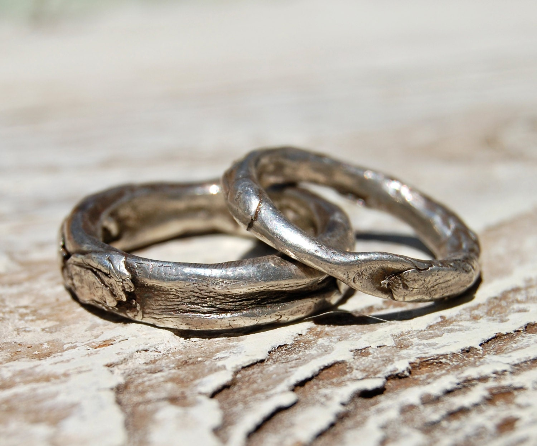Jewelry Silver Wedding Rings Simple Handmade By Codysanantonio