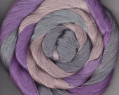 Size 10 50 yards Hand Dyed Cotton Crochet Thread Roas Colorway