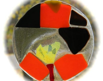 Willow's  Red and Yellow Abstract
