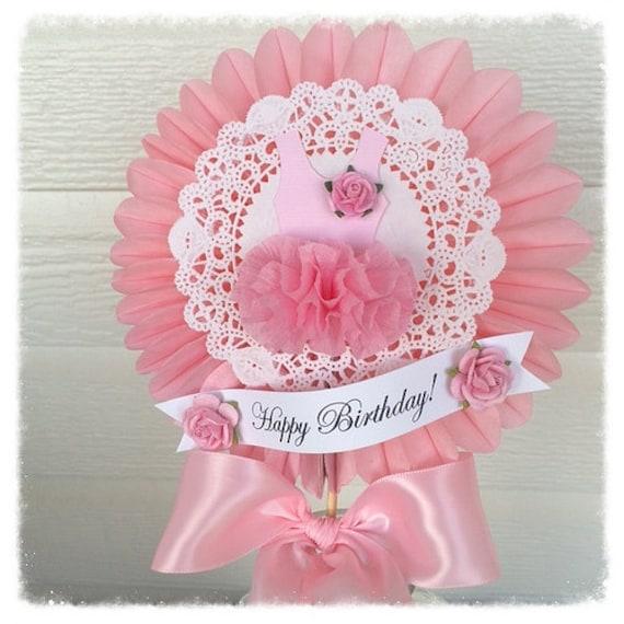 Birthday decoration beautiful shabby chic ballet tutu wand for - Shabby chic wand ...