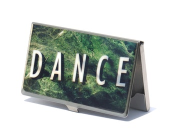 Dance Gift- Business Card Case- Gift for Her- Graduation Gift- Card cases for Women- Dancer- New York City- NY Card Case- Photo Card Case