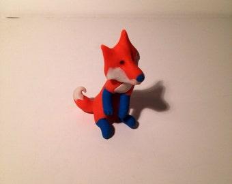 Fox Pencil Topper Eraser