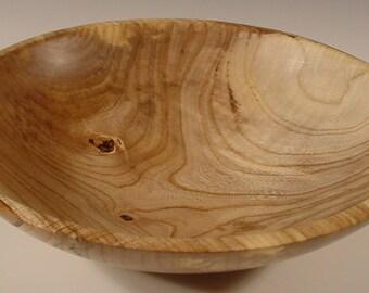 Sweet  Gum Wood Bowl Hand Turned Wooden Bowl Art 5494
