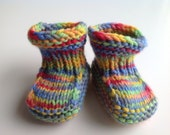 Wool Doll or Baby Booties