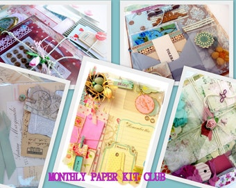 Monthly Paper Kit Club