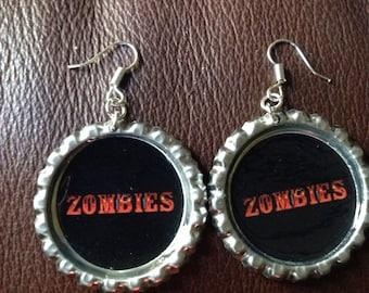 Zombies earrings