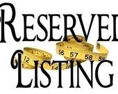 RSERVED Listing for chanmel