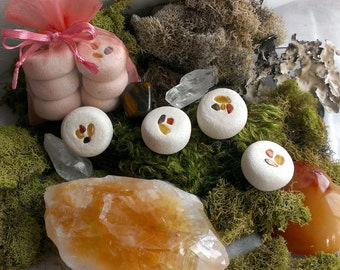 Creativity and Artistic Inspiration herbal crystal offering stones
