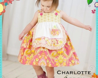 Charlotte Apron Dress Sewing Pattern