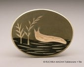 Slug & Ferns- little oval dish- Ruchika Madan