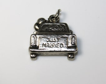 Set of Two Just Married Charms
