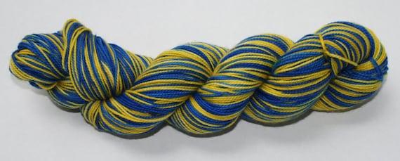 Wolverines Hand Dyed Self-Striping Sock Yarn