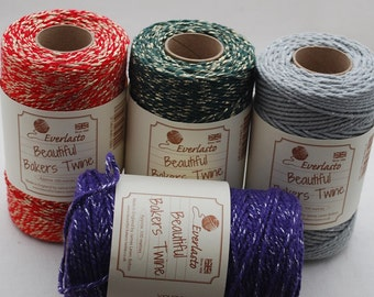 Sparkle Bakers Twine - approx 100 meters (109 yards) - Made in the UK