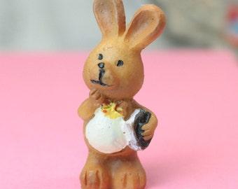 Hand Painted Bunny Wabbits - Set of 4 - 205-5637