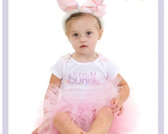 Toddler Easter Outfit Easter Bunny Tutu Dress Toddler Bunny Ears 2 3 4 Year