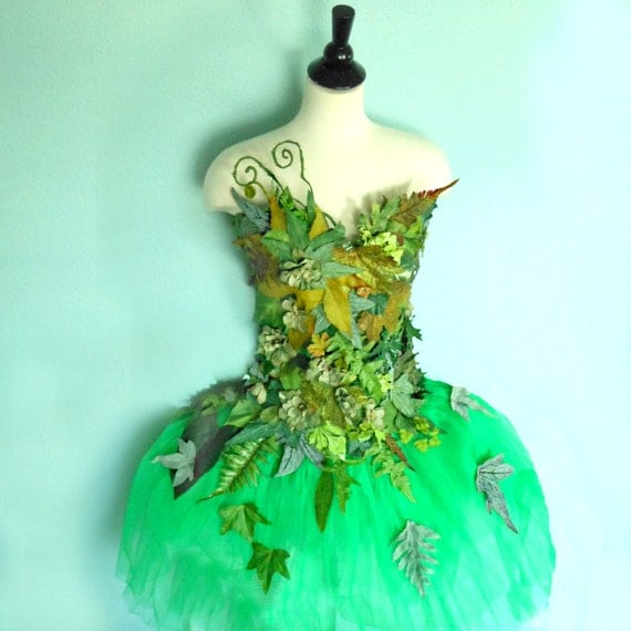 Nature Dress: Items Similar To Fairy Costume