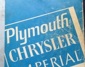 Plymouth Chrysler Imperial Chassis Service Manual 1973