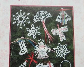 Snowflakes  & Ornaments Crochet Pattern Leaflet