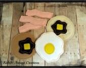 Pretend Breakfast Play Food set of  8