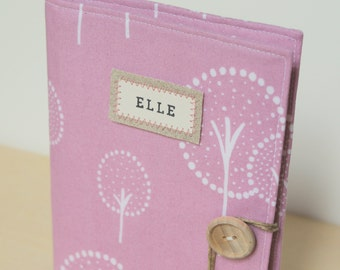 personalized photo album brag book custom lavender modern tree
