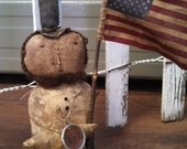 Private Listing Only.  Primitive Americana Abe Abraham Lincoln Sitter. WOW