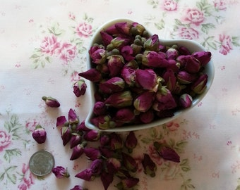 Red Rose Buds Dried 1oz.