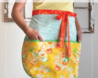 The Clementine Apron---A Fresh-Squeezed Sewing Pattern (pattern only)