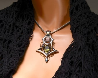Futuristic Balance Point necklace
