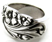 Spoon Ring (All Sizes) Evening Star Vintage Silverware