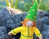 St. Patrick's Gnome Hanging Ornament, Dolls and Miniatures
