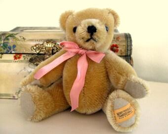Vintage Mohair Merrythought Bear Stuffed Animal