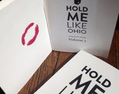 Poetry Book Hold Me Like Ohio Collection of Poems by Amy Turn Sharp