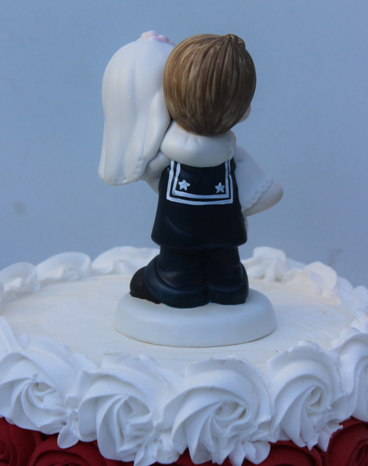 precious moments army wedding cake toppers pm usn navy sailor wedding cake topper by 18707
