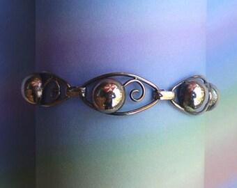 Vintage 30s Gold Filled Wire Work Bracelet